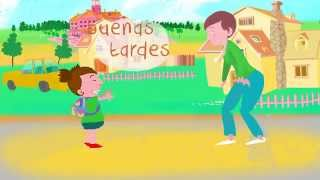 Repeat youtube video ¡Buenos días! Song to learn Spanish greetings and daily routines