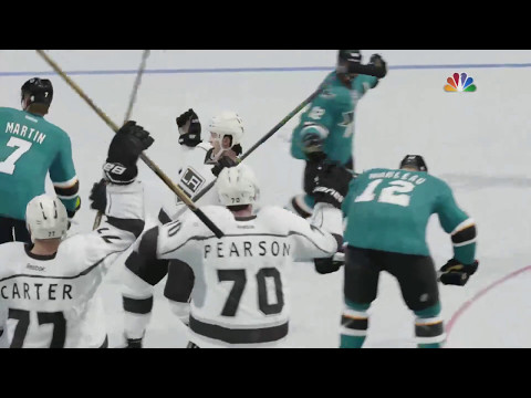 NHL 17 - Los Angeles Kings v San Jose Sharks