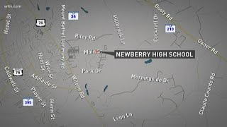 Teacher confronted student with gun at Newberry High, sheriff says