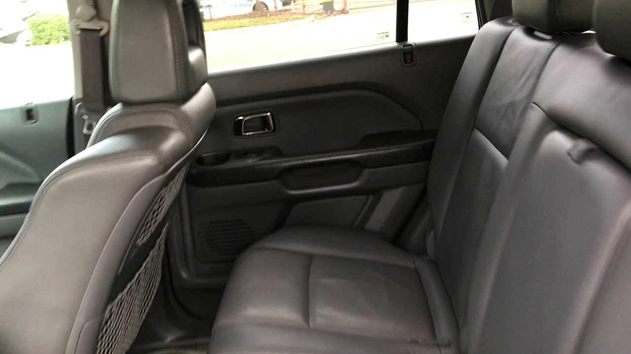 2005 Honda Pilot Ex L W Rear Entertainment System Suv