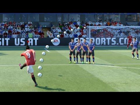 FIFA 17 ALL FREE KICKS TUTORIAL   TRIVELA, KNUCKLEBALL, DRIVEN, RABONA !