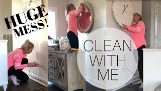 Clean With Me | Huge Mess | Ultimate Clean With Me | Cleaning Motivation