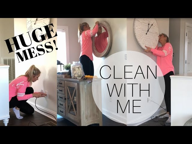 Clean With Me   Huge Mess   Ultimate Clean With Me   Cleaning Motivation