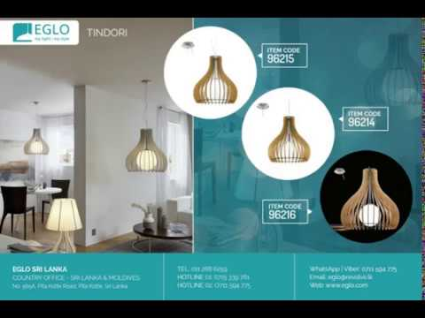 EGLO Lighting Sri Lanka - TINDORI Collection Pendant Design Lighting Fixtures