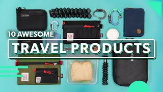 10 Awesome Travel Products | Must Have Travel Gear & Accessories In 2019