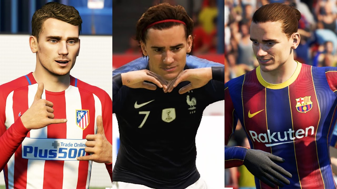 ANTOINE GRIEZMANN IN EVERY FIFA (10-21)