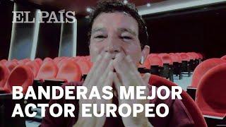 El discurso de Antonio Banderas tras ganar el premio a mejor actor europeo del año por 'Dolor y g...