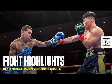 HIGHLIGHTS | Bektemir Melikuziev vs. Gabe Rosado