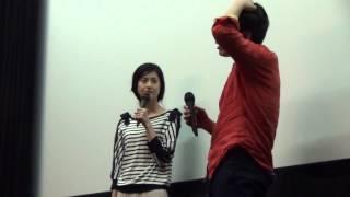 4月28日 「はなればなれに」トークショー 松本若菜さんと下手大輔監督 松本若菜 検索動画 9