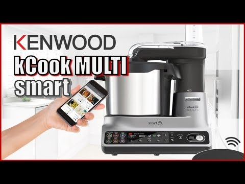 REVIEW KENWOOD kCook Multi SMART   El único robot que frie y se controla desde el movil