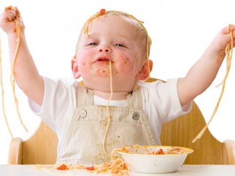 Best Babies Eating Spaghetti Funny Babies Eating