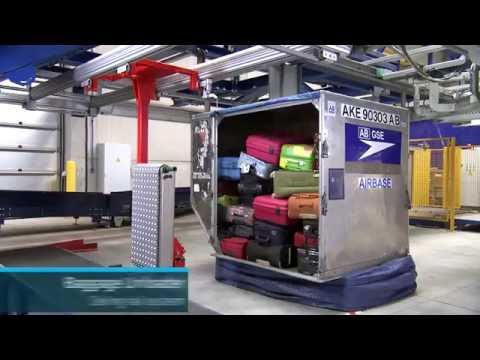 Baggage Unloader for Airports
