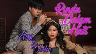 Gambar cover Rindu Dalam Hati - Arsy Widianto, Brisia Jodie Lyrics Video