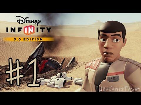 Disney Infinity 3.0: Star Wars The Force Awakens (#1)   KID GAMING