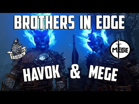 For Honor: Havok & Mege - Brothers in Edge