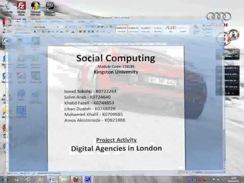 Social Computing Prototype