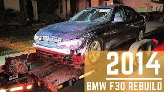 Rebuilding a Salvaged 2014 BMW F30!