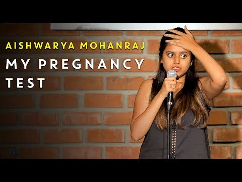 My Pregnancy Test | Stand-Up Comedy by Aishwarya Mohanraj
