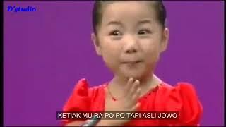 """Lucu !! Lagu Jawa Di Nyanyikan Anak Kecil Dari """"Korea"""""""