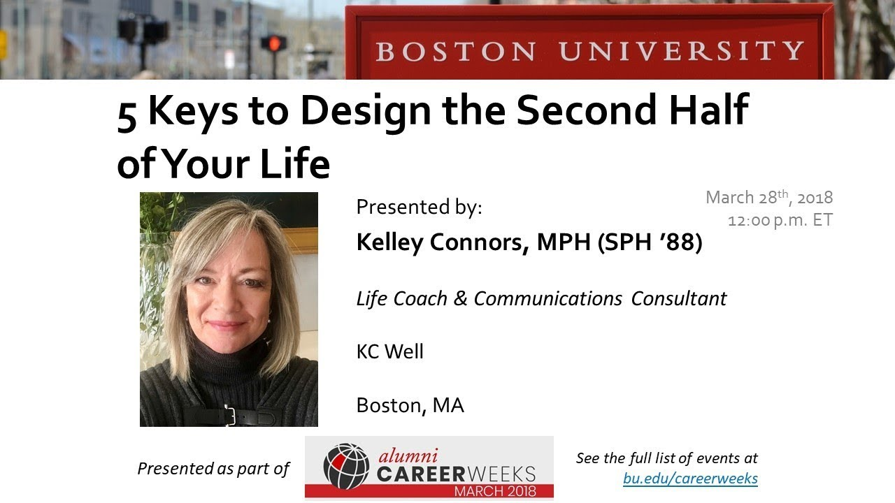 5 KEYS TO DESIGN THE SECOND HALF OF YOUR LIFE