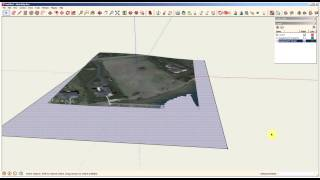 Sketchup Site Modeling using Geo-Location