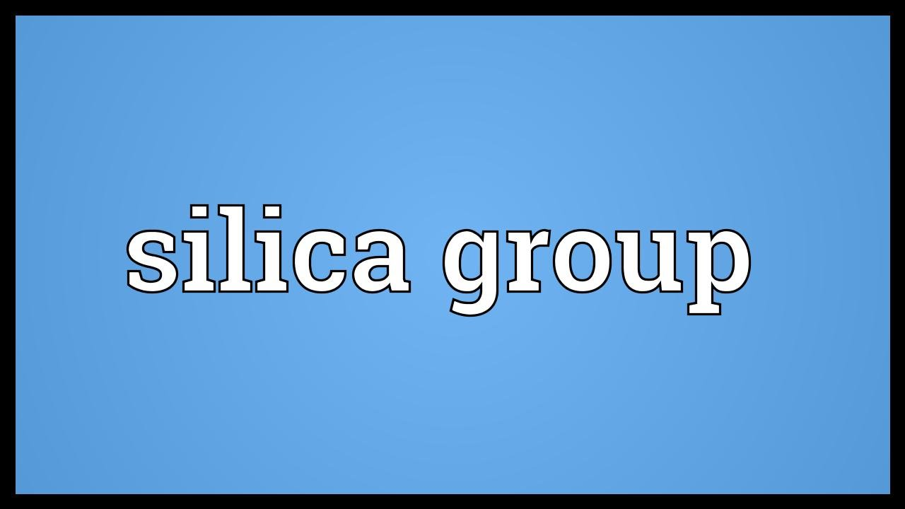 Silica Group 99
