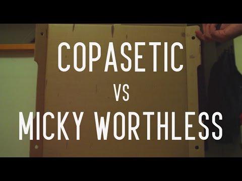 KOTD - Rap Battle - Copasetic vs Micky Worthless | #GZ