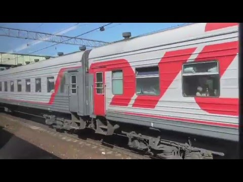 Экспресс Рязань-1 - Москва прибывает на Казанский вокзал
