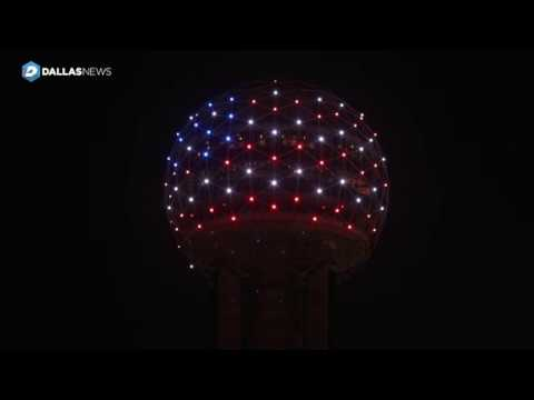 reunion-tower-honors-the-late-president-george-h-w-bush