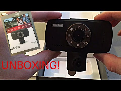 Uniden Iwitness DC115 Dual-camera Automotive Video Recorder Unboxing And Review