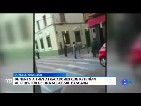 Graban El ATRACO Un Banco A Punta De Pistola En Nules
