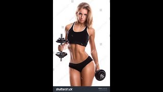 #YouTube Females Do This To Get More Gainz From Dumbbell Chest Press