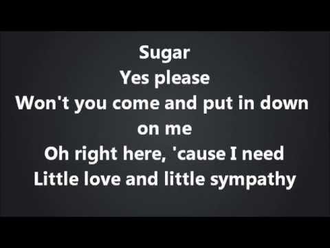 Maroon 5 - Sugar [Lyrics Video]