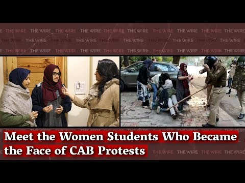 Meet The Women Students Who Became The Face Of CAB Protests