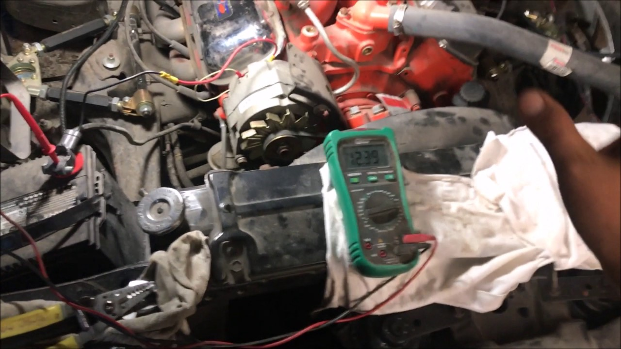 Watch Before You Buy A Gm 1 Wire Alternator And Other Info Diode Chevy Diagram Install