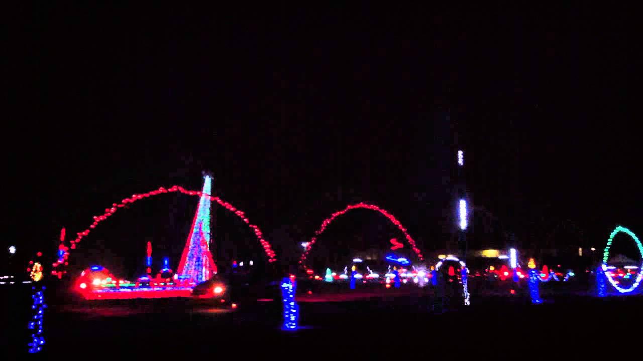 shadrack christmas lights smokies stadium sevierville tn