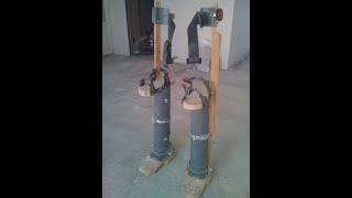 строительные ходули своими руками , как сделать ходули из ПВХ трубы!
