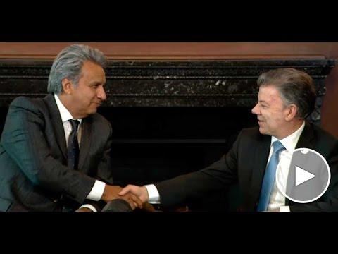 Palabras del Presidente Juan Manuel Santos durante la visita de Lenin Moreno