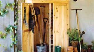 Garden Shed Storage Decorating Ideas