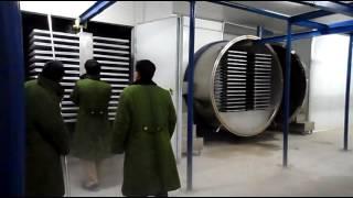 Freeze Dryer Working Video