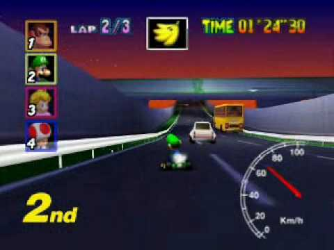 Mario Kart 64 Toad S Turnpike 05 16 Youtube