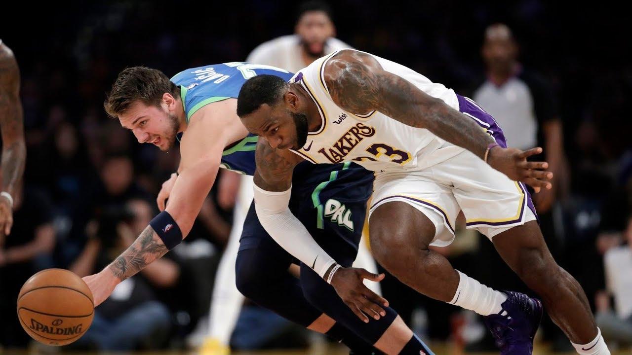 Los Angeles Lakers Vs Dallas Mavericks 1st December 2019 20 Season Highlights