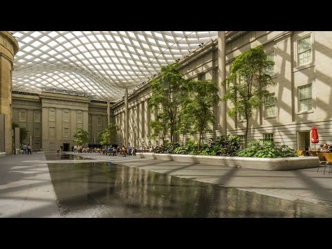 National Portrait Gallery - Kogod Courtyard