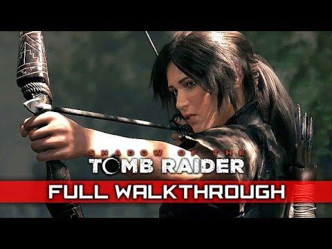 Shadow Of The Tomb Raider Full Gameplay Walkthrough No