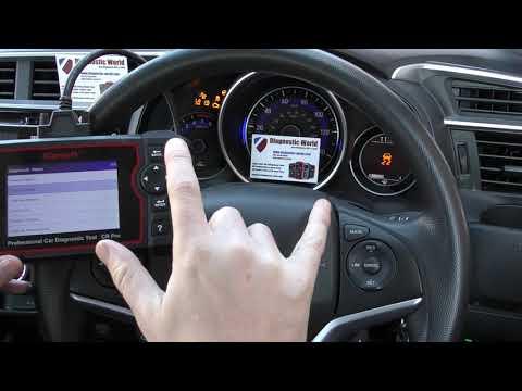 Honda Engine Fix iCarsoft CR Pro Honda Check Engine Light Reset Diagnose Demo Review P0351