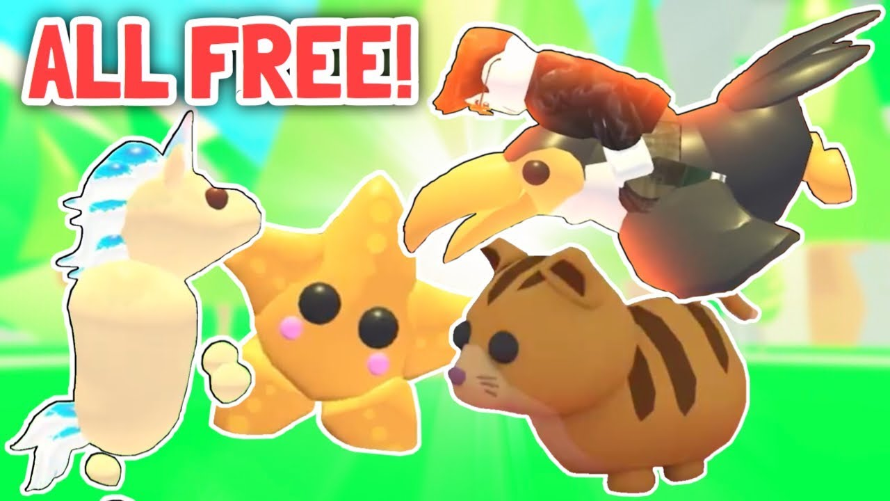 How To Get All New Free Star Pets Adopt Me Update Youtube