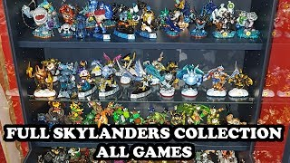 FULL SKYLANDERS COLLECTION 2017 - SHOWING MY COLLECTION (SPYRO