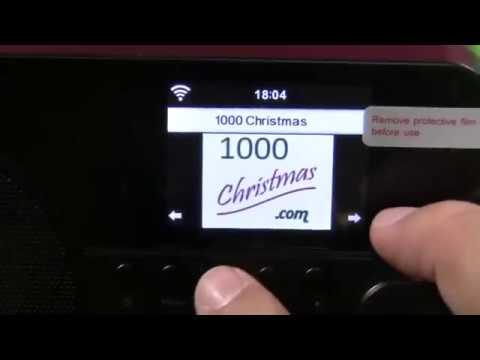 Ocean Digital Wifi Internet Radio WR238 Bluetooth Despertador Temporizador Opiniones
