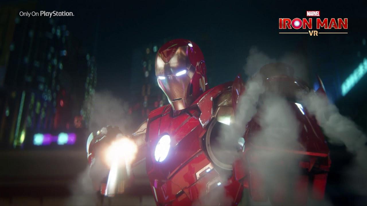 PS VR《Marvels Iron Man VR》整裝待發,成就偉大