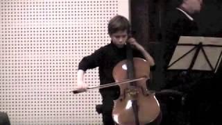 Julius Klengel Concertino C- Dur op.7  3 mvt Rondo Vivace